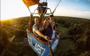 Полет на воздушном шаре в Смоленске